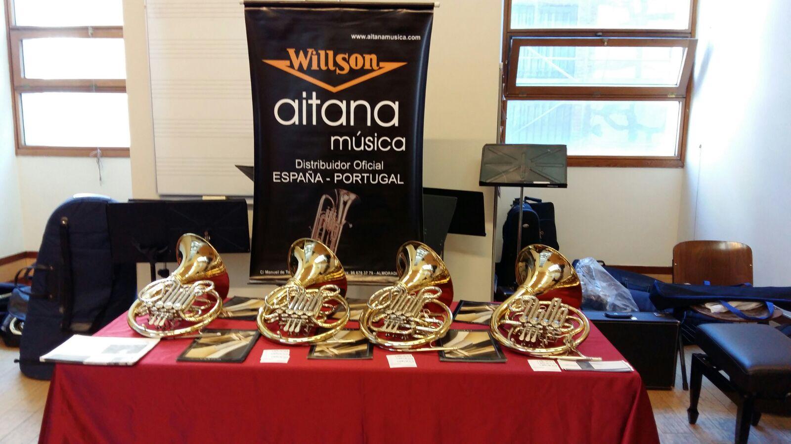 Masterclass impartida por Rodolfo Epelde (Trompa solista de la Orquesta Nacional de España y artista Willson)