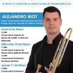Descubre la gama de trombones con Alejandro Biot